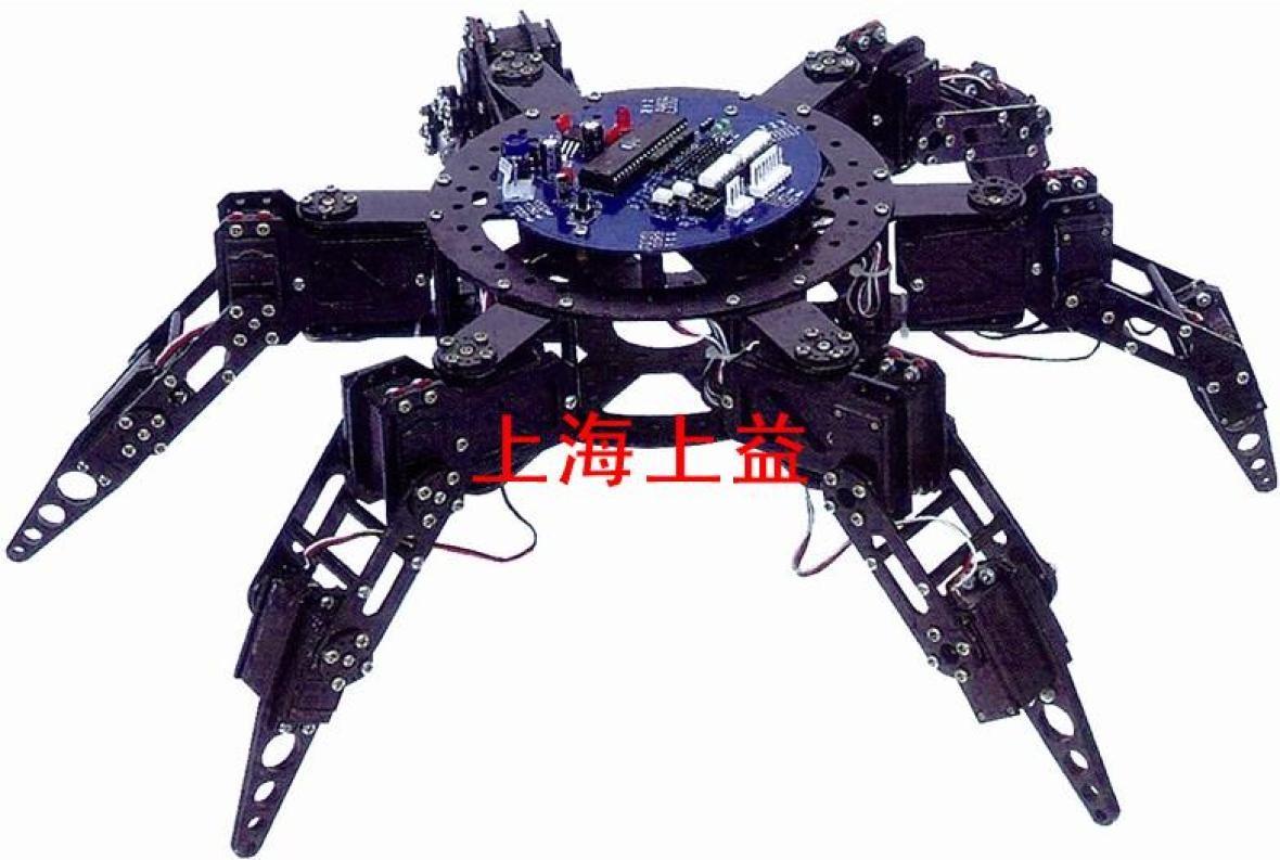 SYMX-01N6足18自由度爬行教学机器人