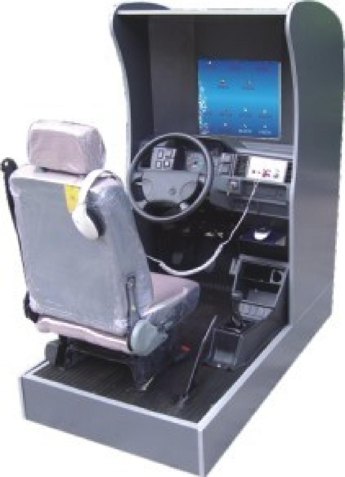 SYMJ-1183豪华型主被动式汽车驾驶模拟器