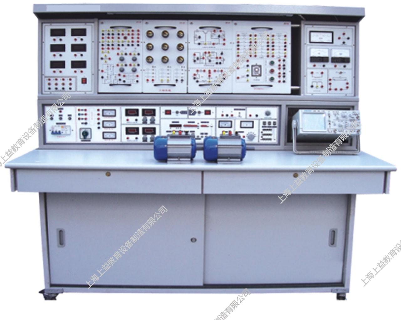 SYGL-528D立式电工、模电、数电、电气控制实验台(带直流电机实验