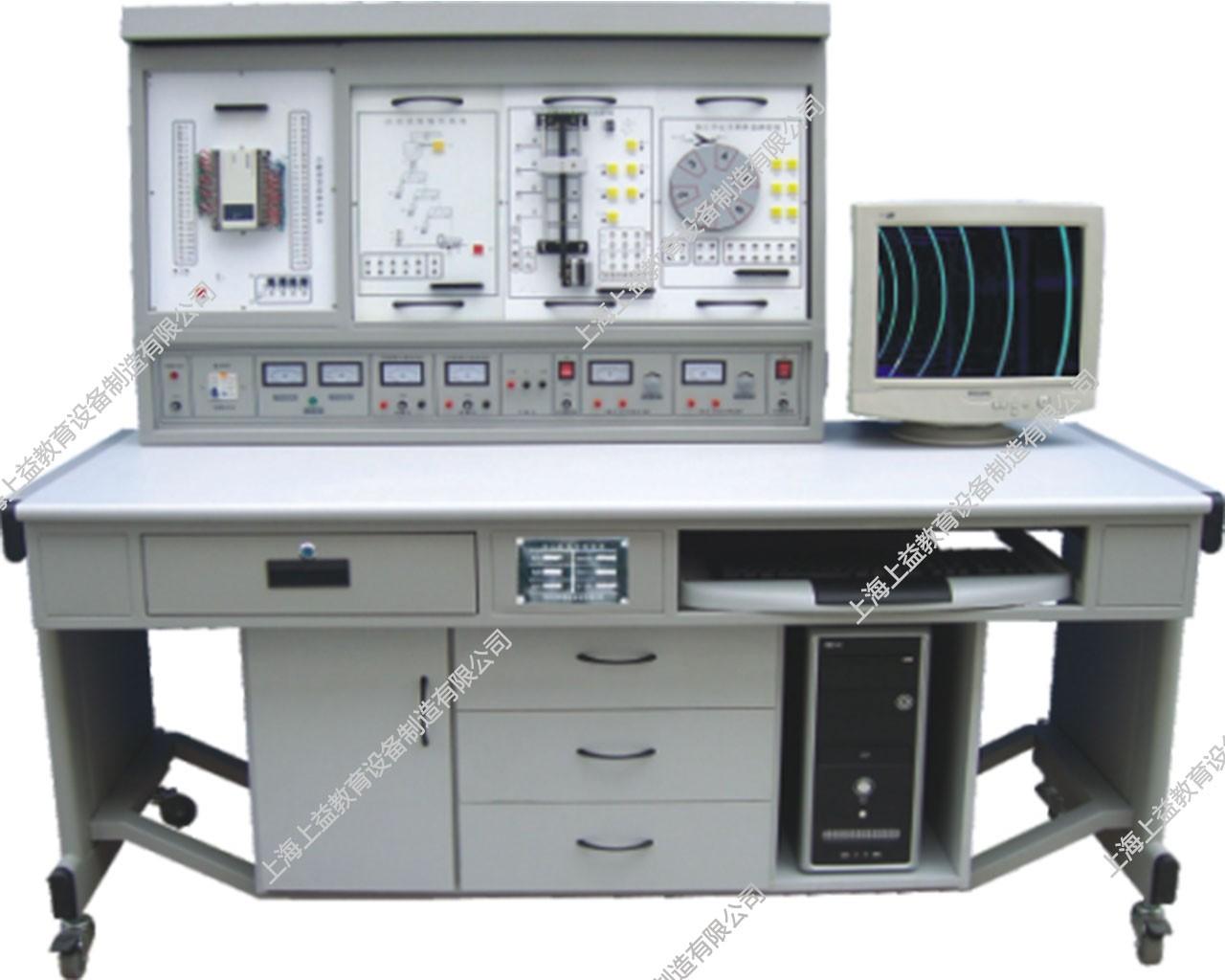 SYPLC-01B PLC可编程控制实验及单片机开发系统综合实验装置(立式,挂箱积木式)