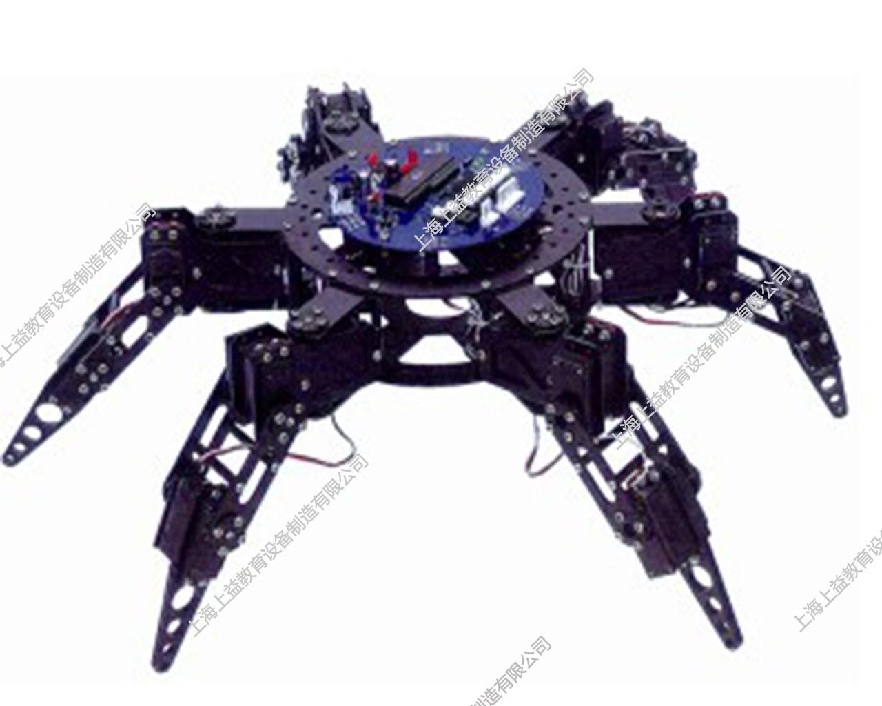 SYMX-01N型6足21自由度爬行机器人wwwlehu8vip模型