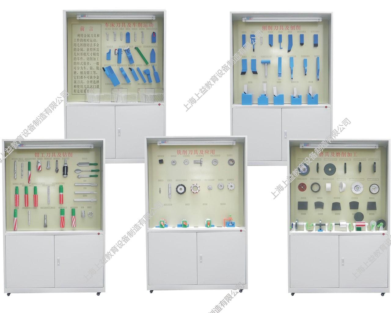SYGLG-120 切削原理与刀具语音多功能控制陈列柜