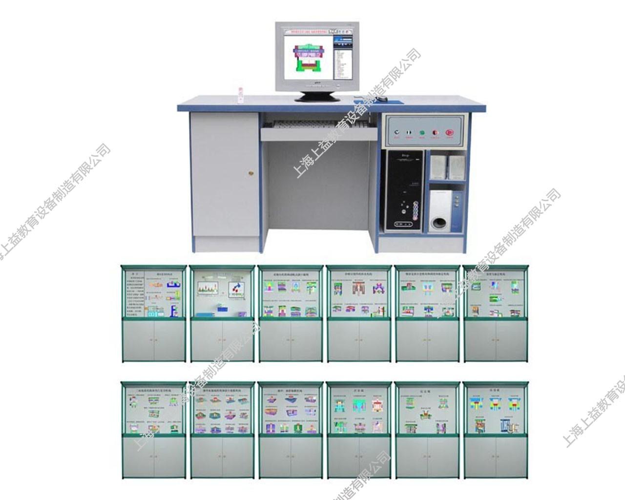 SYGLG-115 塑料磨具设计与制造语音多功能控制陈列柜