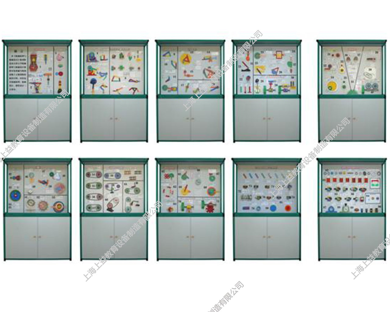SYGLG-106 多媒体智能控制《机械原理与机械设计》陈列柜