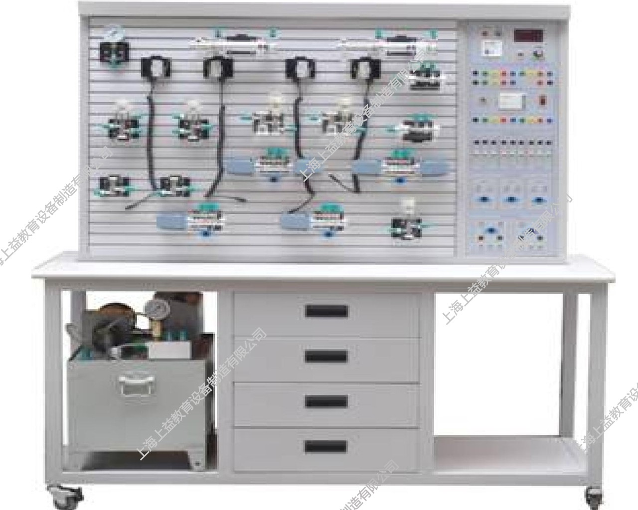 SYYPL-01C透明液压传动与PLCwwwlehu8vip装置(T型铝槽单面)