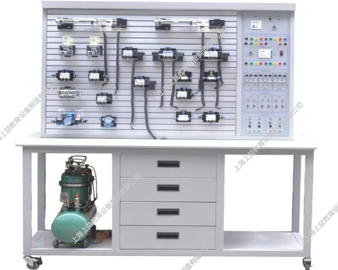 SYQPL-02A气动与PLCwwwlehu8vip装置(T型铝槽单面)
