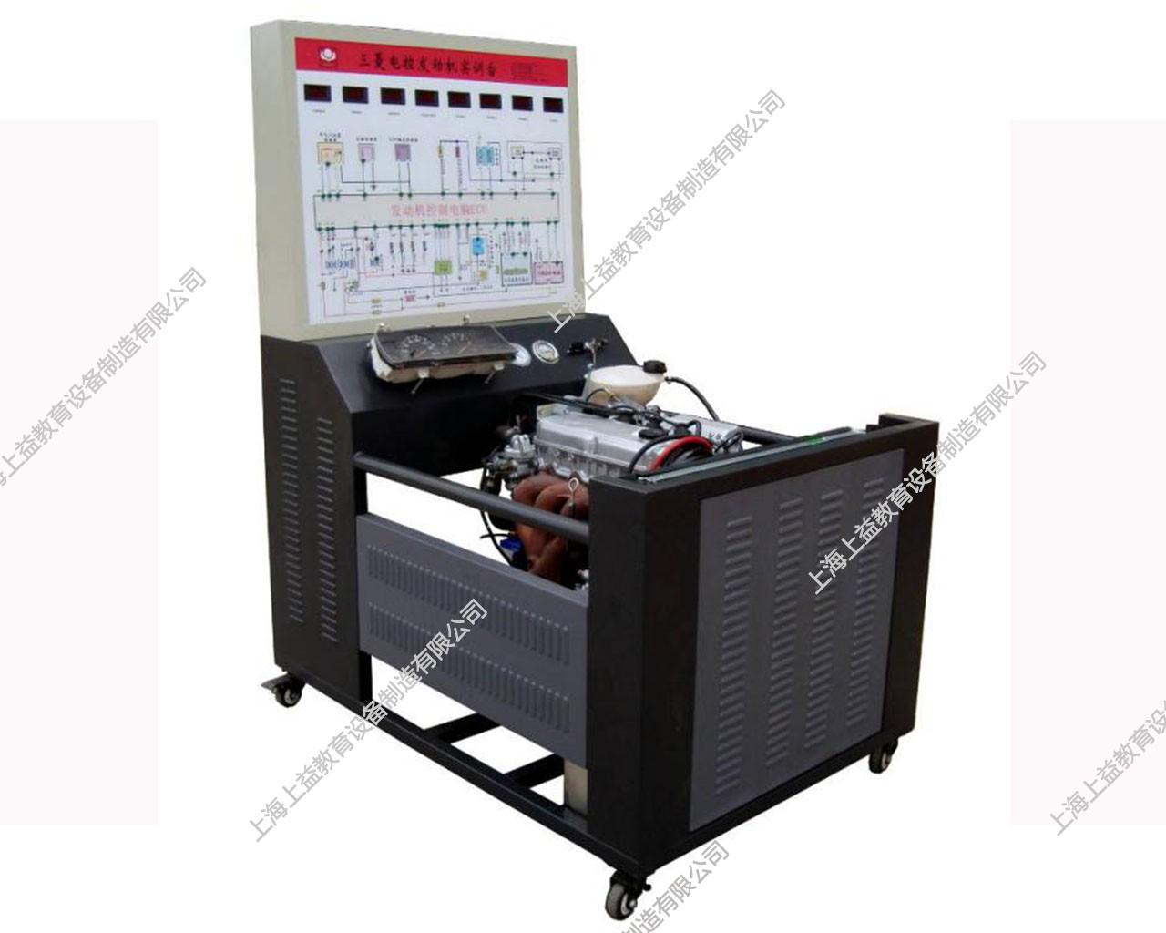 电控汽油发动机运行wwwlehu8vip台(三菱4G64)