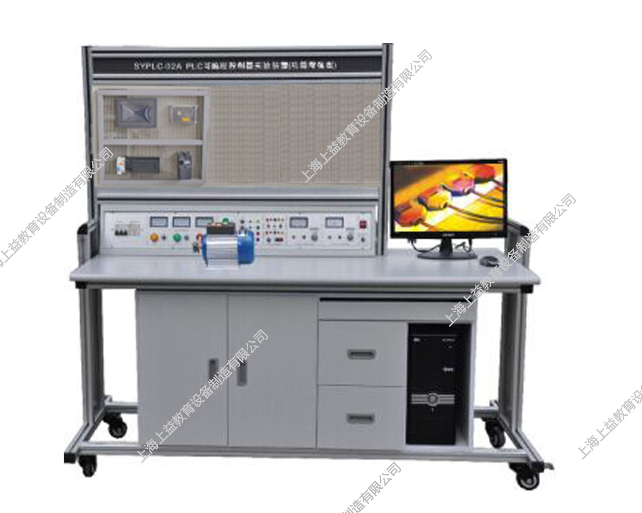 SYPLX-01C网孔型PLC、变频器、触摸屏自动化综合wwwlehu8vip装置