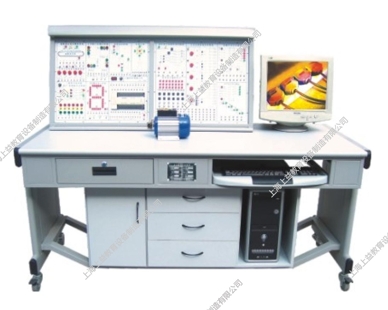 SYPLC-105B网络型PLC可编程控制实验装置