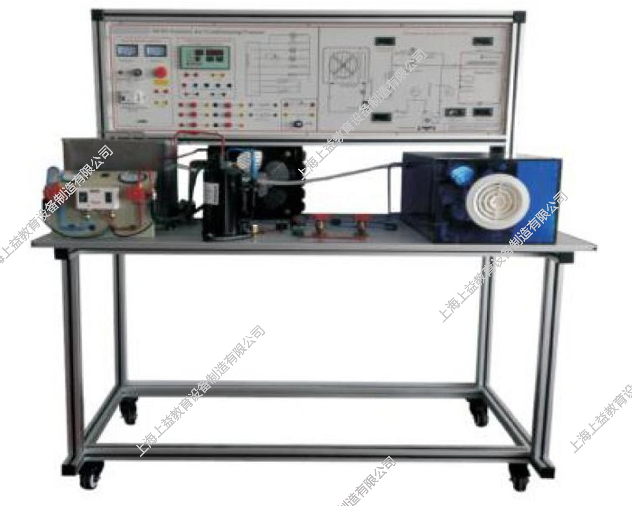 SY-HW25恒温恒湿机组系统模拟实验装置