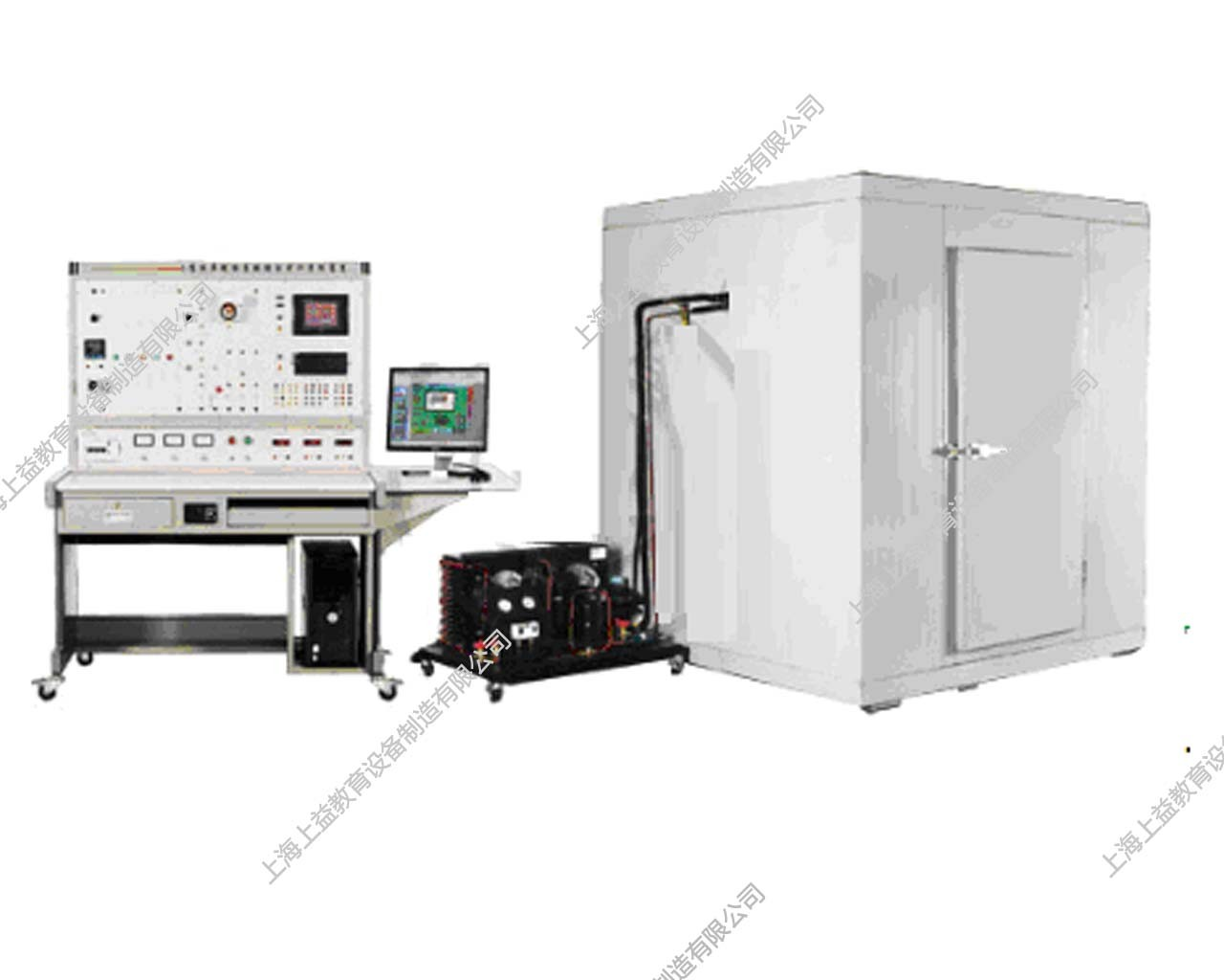 SYZLRX-86型 小型冷库制冷系统综合wwwlehu8viplehu68vip装置