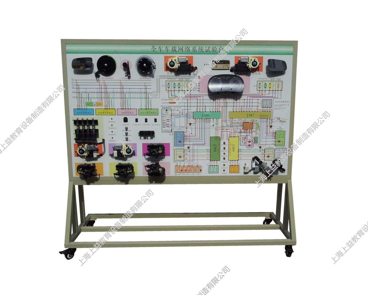 CAN数据传输网络系统示教板(大众帕萨特)