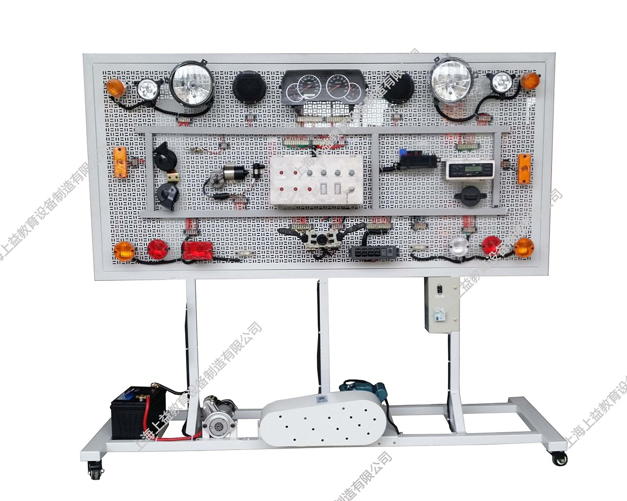 全车电器接线lehu68vip综合wwwlehu8vip台(网孔式B型)