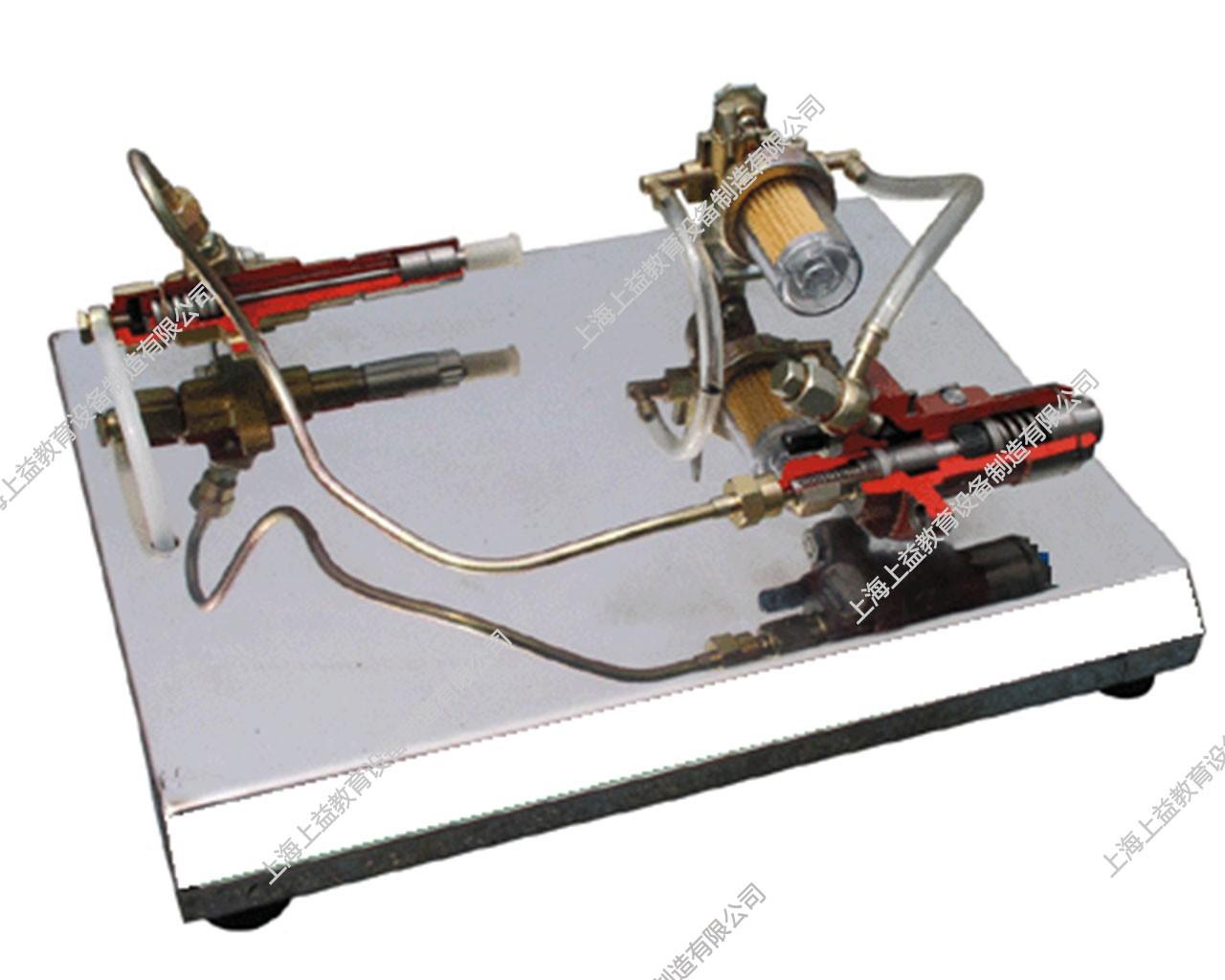 手动输油泵解剖模型
