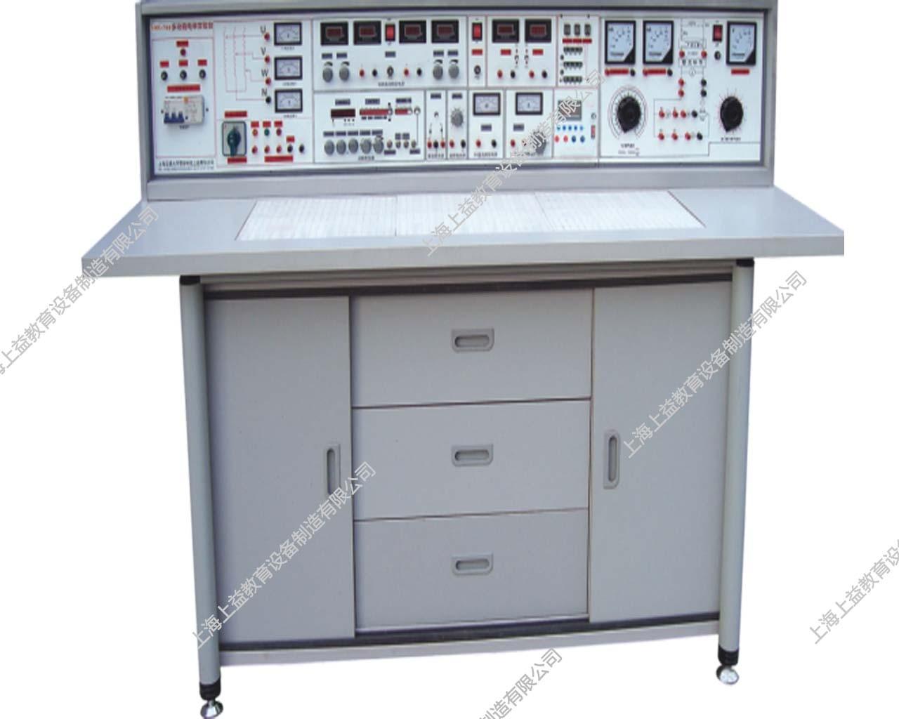 SYJZD--988D电工模电数电电拖创新实验与技能wwwlehu8viplehu68vip实验室成套设备(带智能型功率表、功率因数表、直流电机)