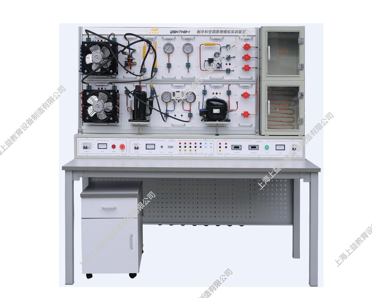 SYJYD-ZLKT-1型 制冷和空调模拟wwwlehu8vip装置装置