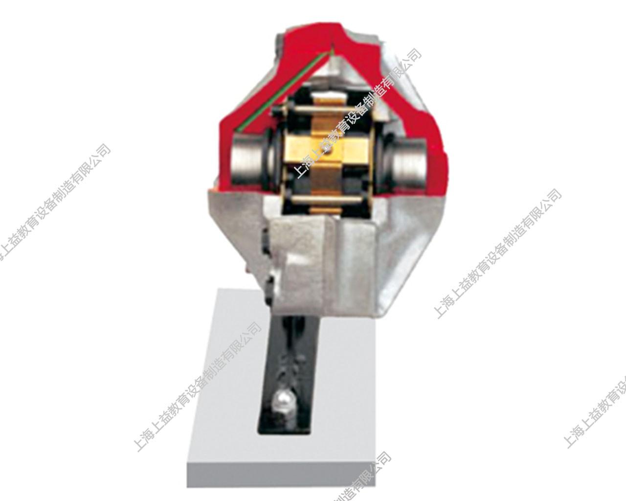 固定钳盘式制动器解剖模型