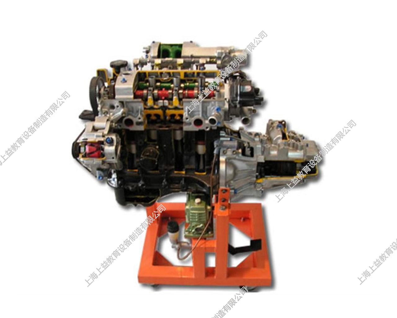 发动机与手动变速器解剖综合模型