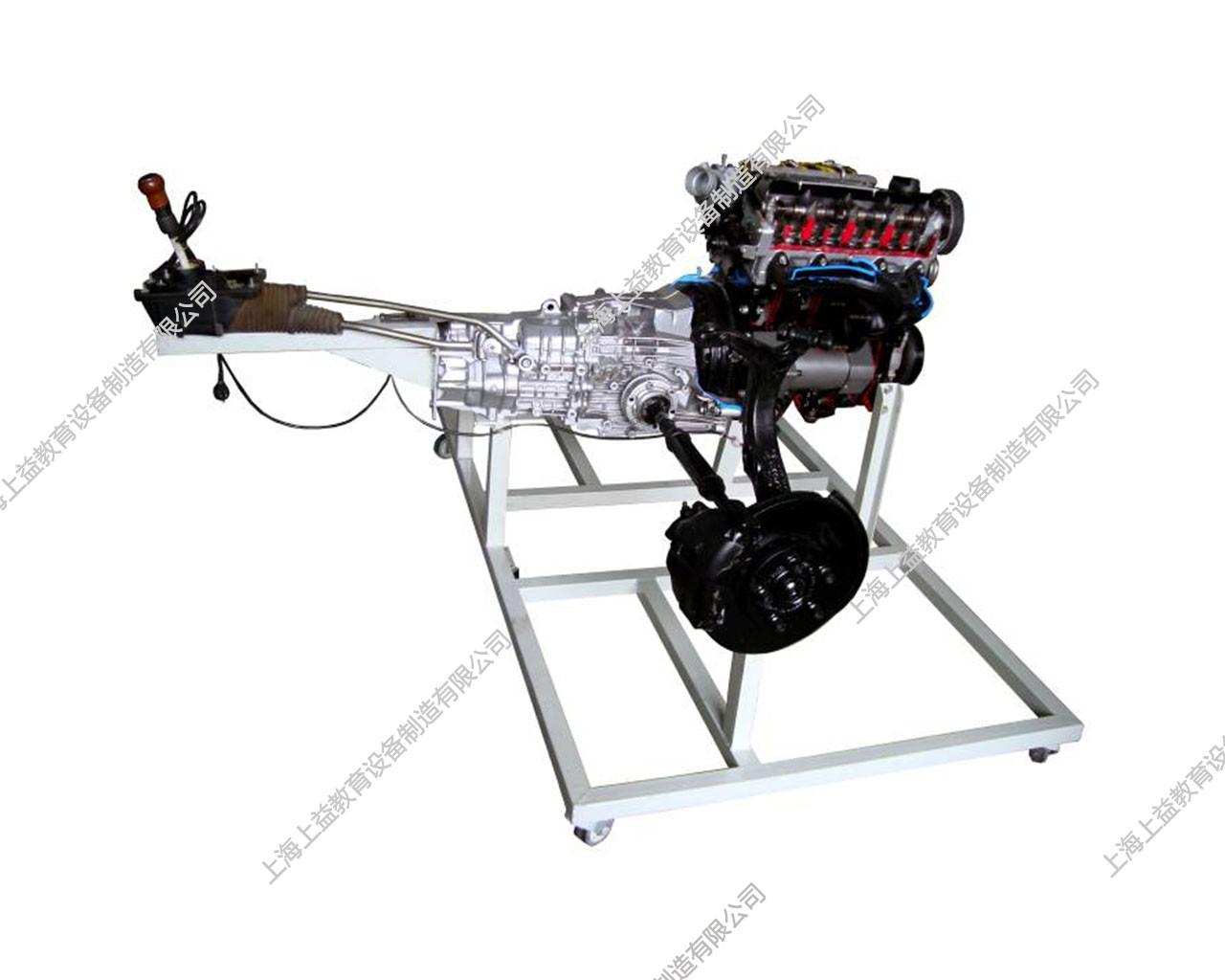 汽车动力驱动与传动系统演示解剖模型(大众B5)
