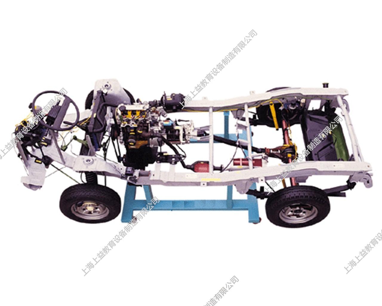 汽车综合原车底盘解剖模型(小货车)