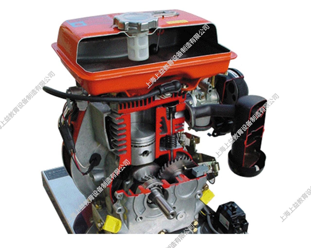 单缸柴油发动机模型