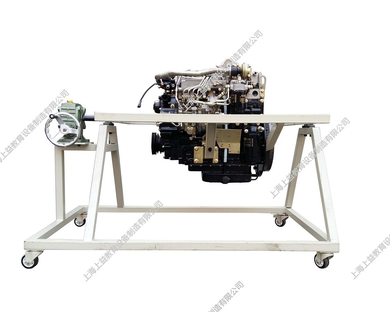 拆装拖拉机柴油发动机附翻转架
