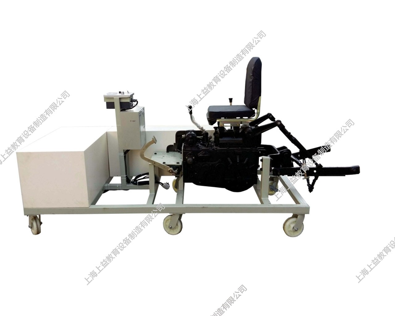 拖拉机整机液压操纵机构(工作装置)综合wwwlehu8vip台