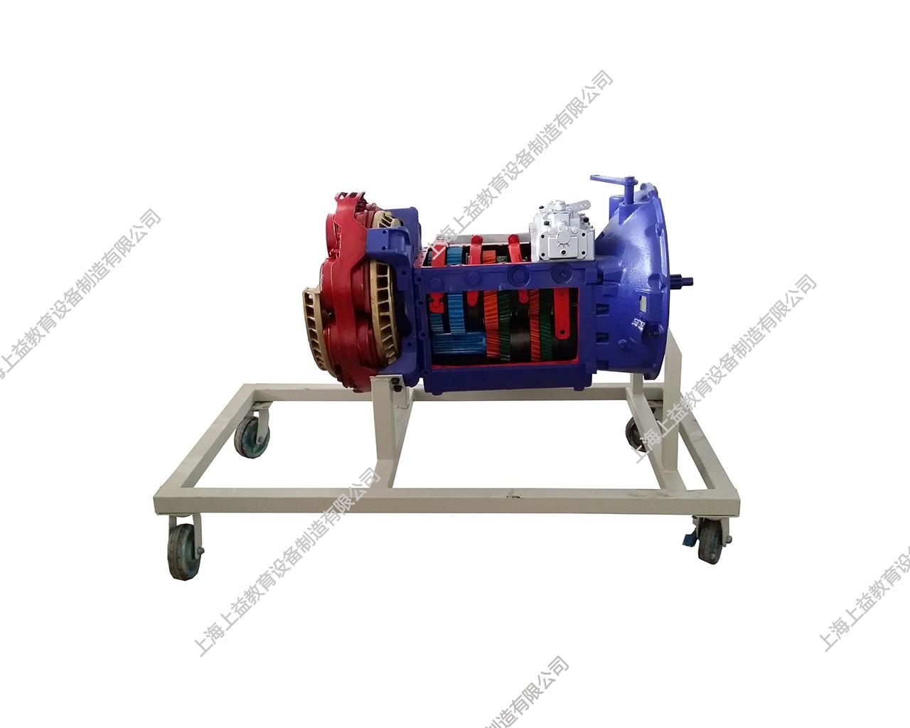 ZL50C装载机变矩器、变速器模型