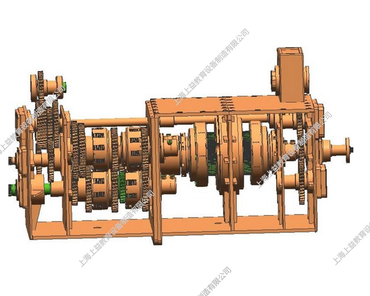 拖拉机变速器解剖模型