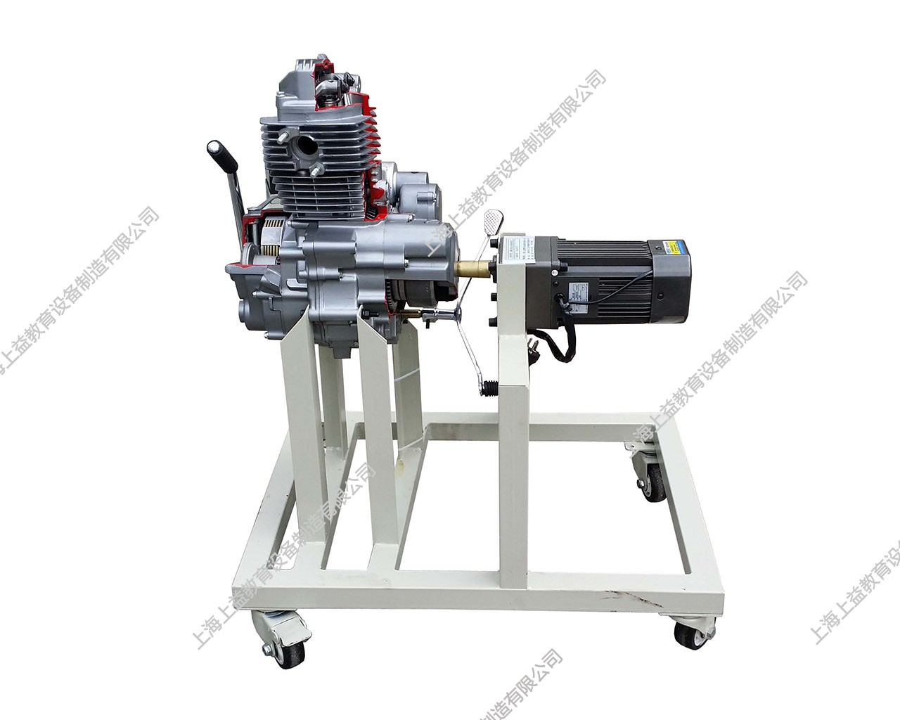 单缸汽油发动机模型