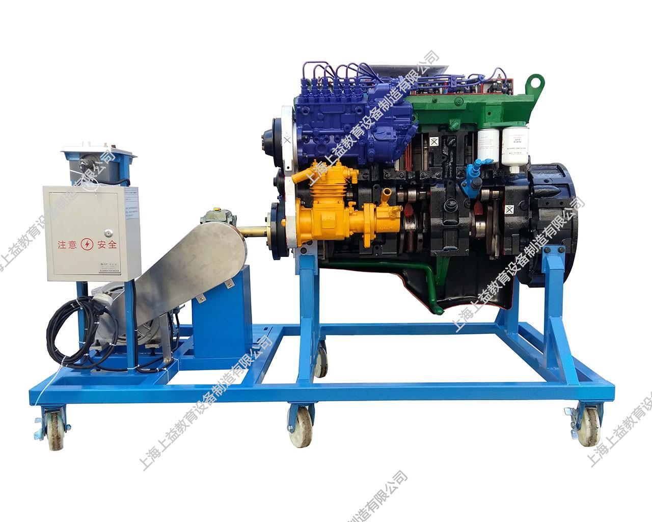 工程机械发动机解剖演示台(康明斯6CT)