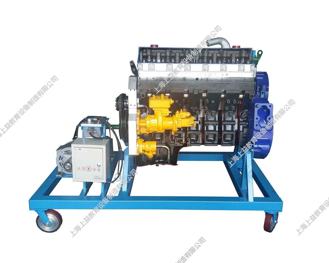 工程机械发动机解剖演示台(康明斯NT855)