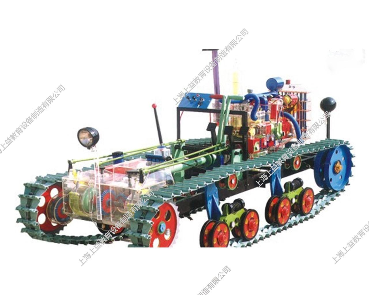 拖拉机整机透明模型